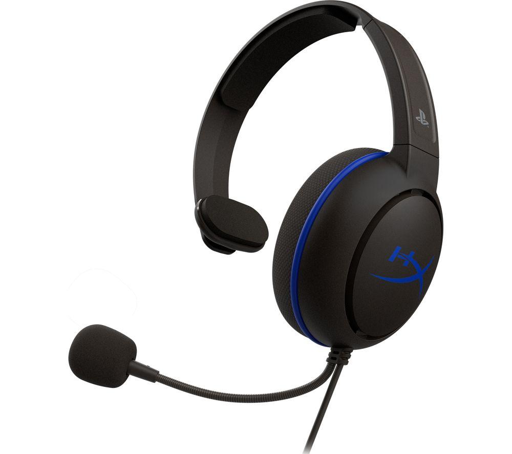 HYPERX Cloud Chat Gaming Headset - Black & Blue