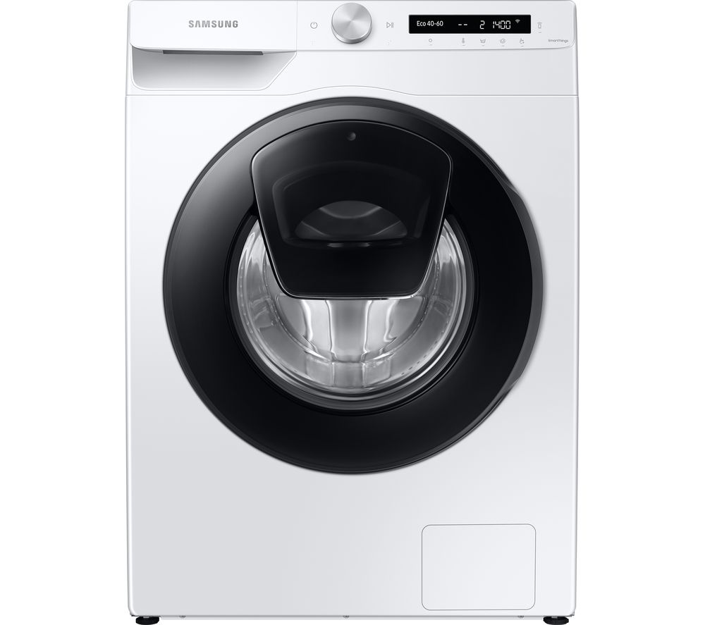 SAMSUNG AddWash WW80T554DAW/S1 WiFi-enabled 8 kg 1400 Spin Washing Machine - White