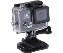 4K Ultra HD Action Camera - Black