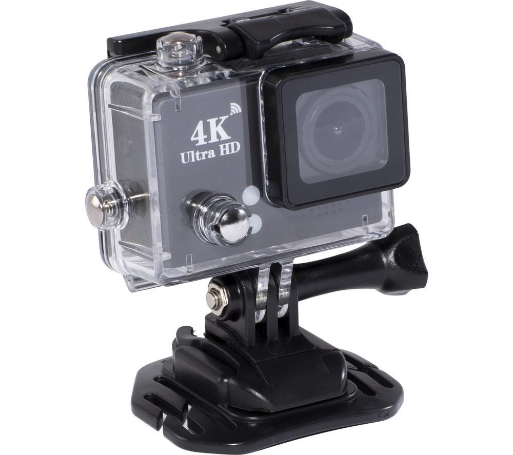 DAEWOO AVS1360 4K Ultra HD Action Camera - Black