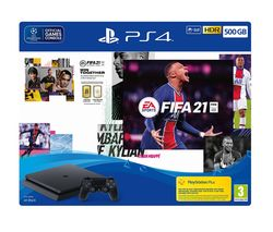 PlayStation 4 with FIFA 21 - 500 GB