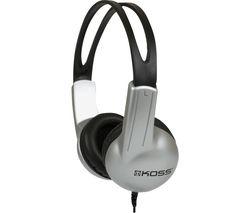 UR 10 191924 Headphones - Silver & Black