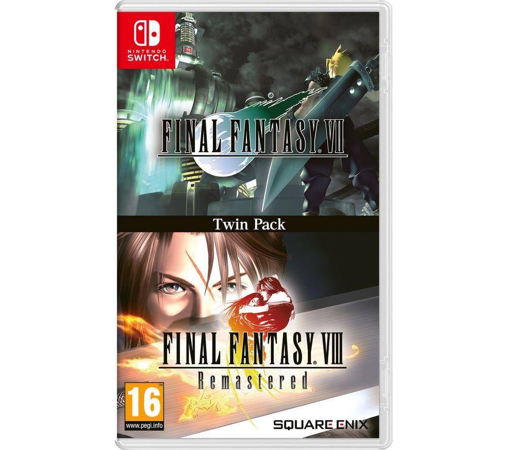 NINTENDO SWITCH Final Fantasy VII & Final Fantasy VIII Remastered