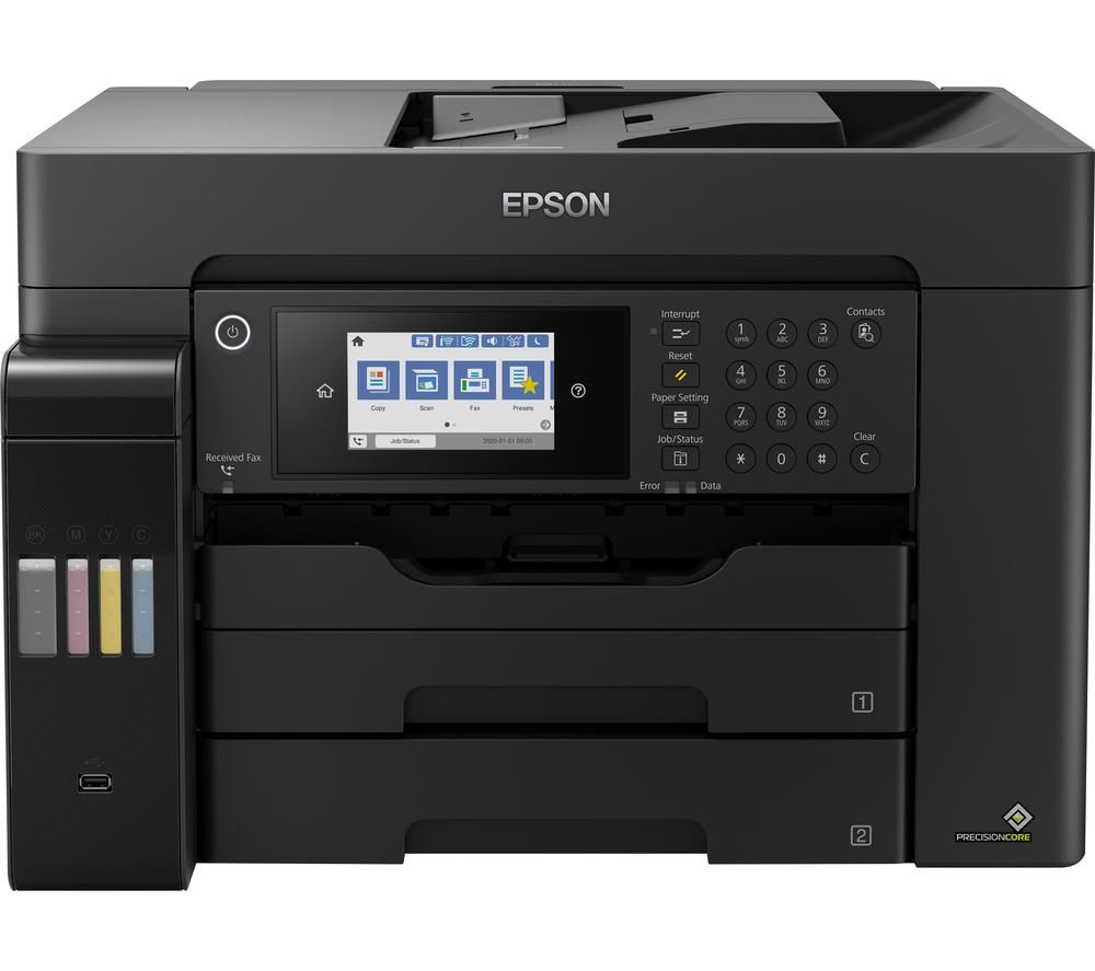 EPSON EcoTank ET-16600 All-in-One Wireless A3+ Inkjet Printer with Fax