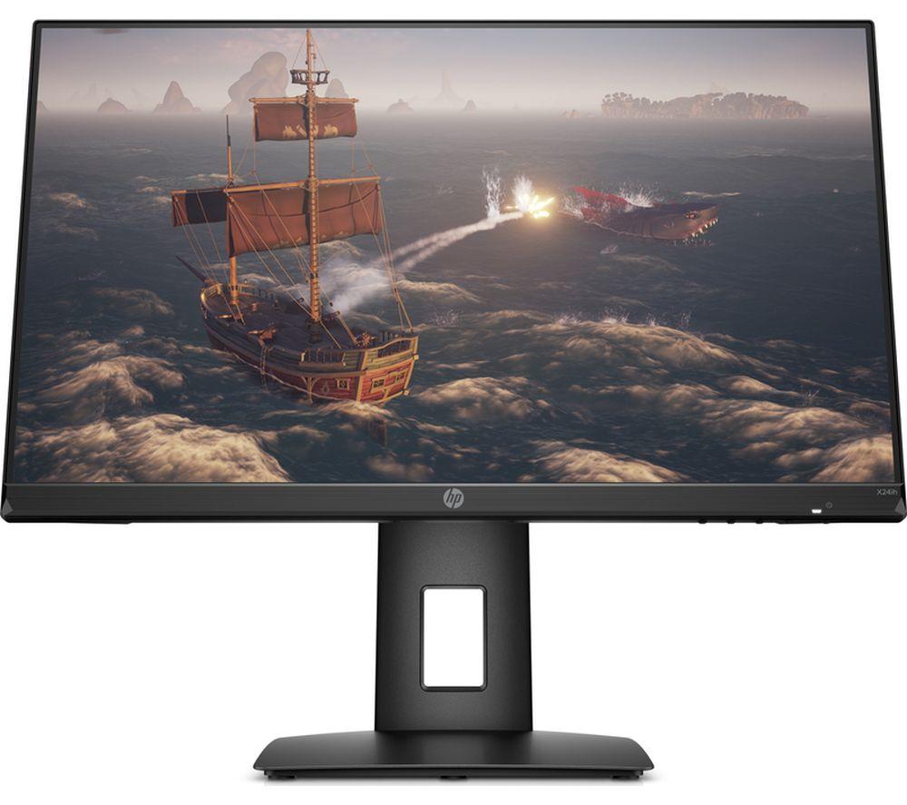 "Image of HP X24ih Full HD 23.8"" IPS LCD Gaming Monitor - Black, Black"