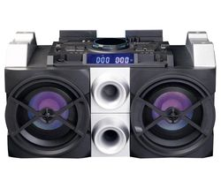 PMX-150 Megasound Party Speaker - Black & Silver