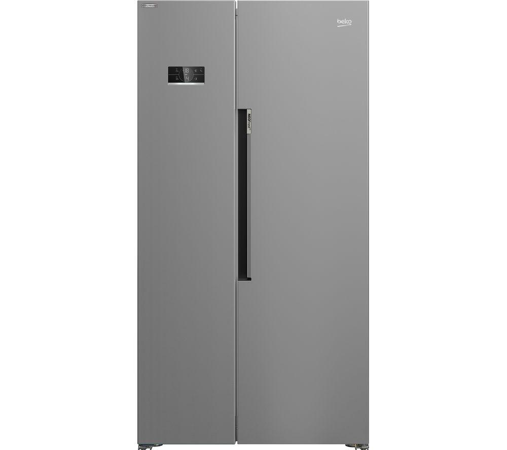 BEKO ASL1342S American-Style Fridge Freezer - Silver