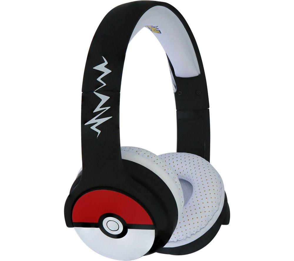 OTL Pokéball PK0725 Wireless Bluetooth Kids Headphones - Black