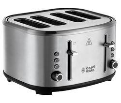 Stylevia 26290 4-Slice Toaster - Silver
