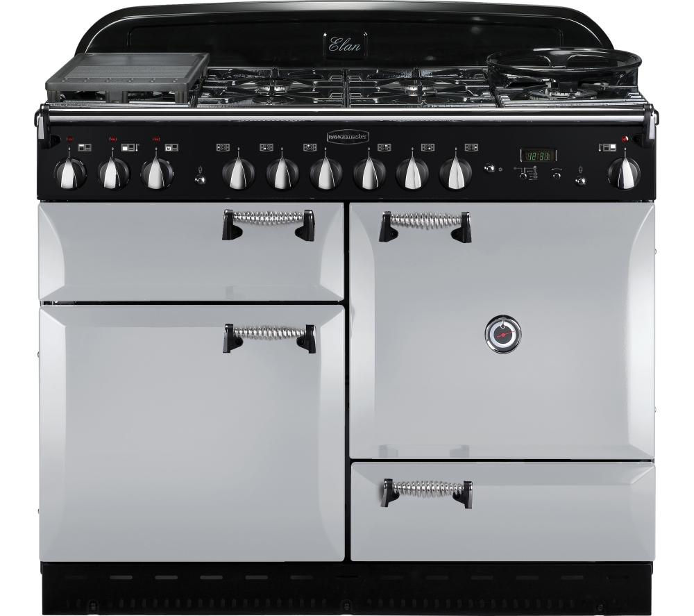 buy rangemaster elan 110 dual fuel range cooker royal. Black Bedroom Furniture Sets. Home Design Ideas