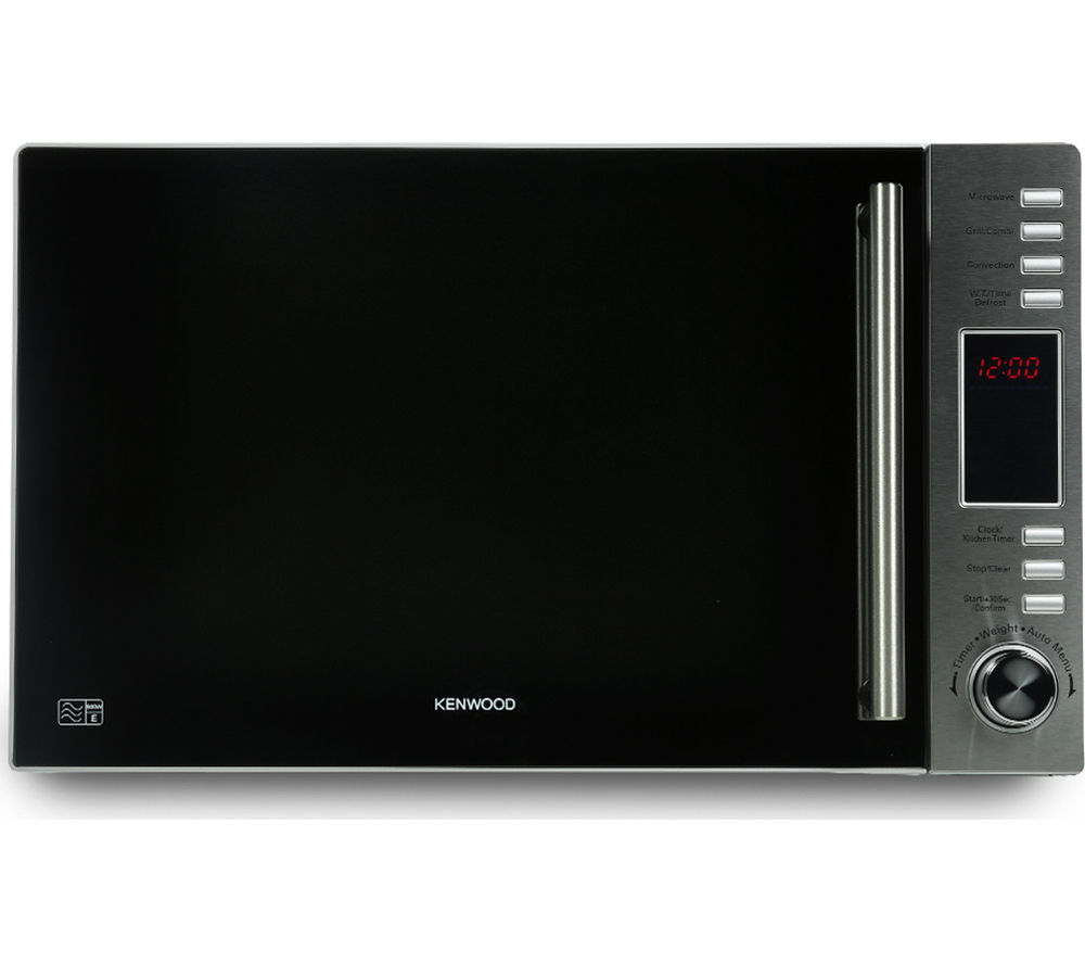 KENWOOD K30CSS14 Combination Microwave - Stainless Steel + Buckingham 20460 Jug Kettle - Stainless Steel + Buckingham 4-Slice Toaster - Stainless Steel