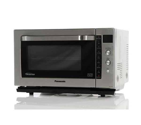 PANASONIC NN-CF778SBPQ Combination Microwave - Stainless Steel + M-Cuisine Microwave Rice Cooker - Stone & Orange