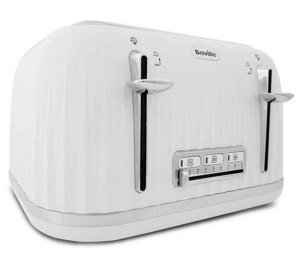 db4748cef266 Buy BREVILLE Impressions VTT470 4-Slice Toaster - White | Free ...
