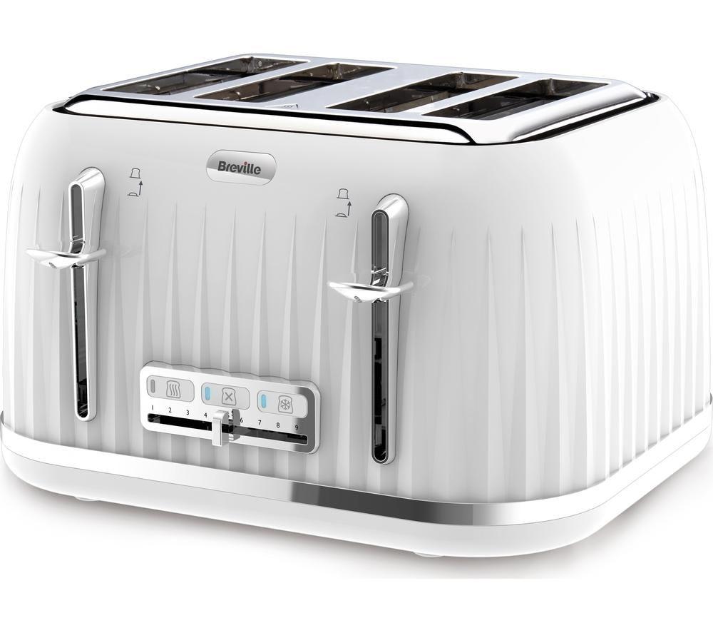 4 Slice Toaster ~ Buy breville impressions vtt slice toaster white