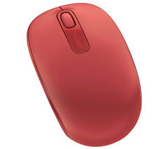 1850 Wireless Mobile Optical Mouse - Red