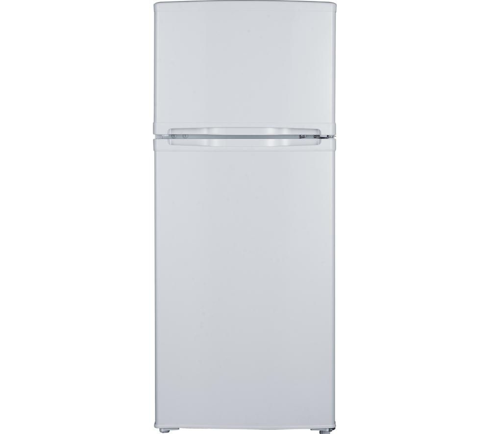 ESSENTIALS C50TW15 75/25 Fridge Freezer - White + Select DSX83410W Heat Pump Tumble Dryer - White