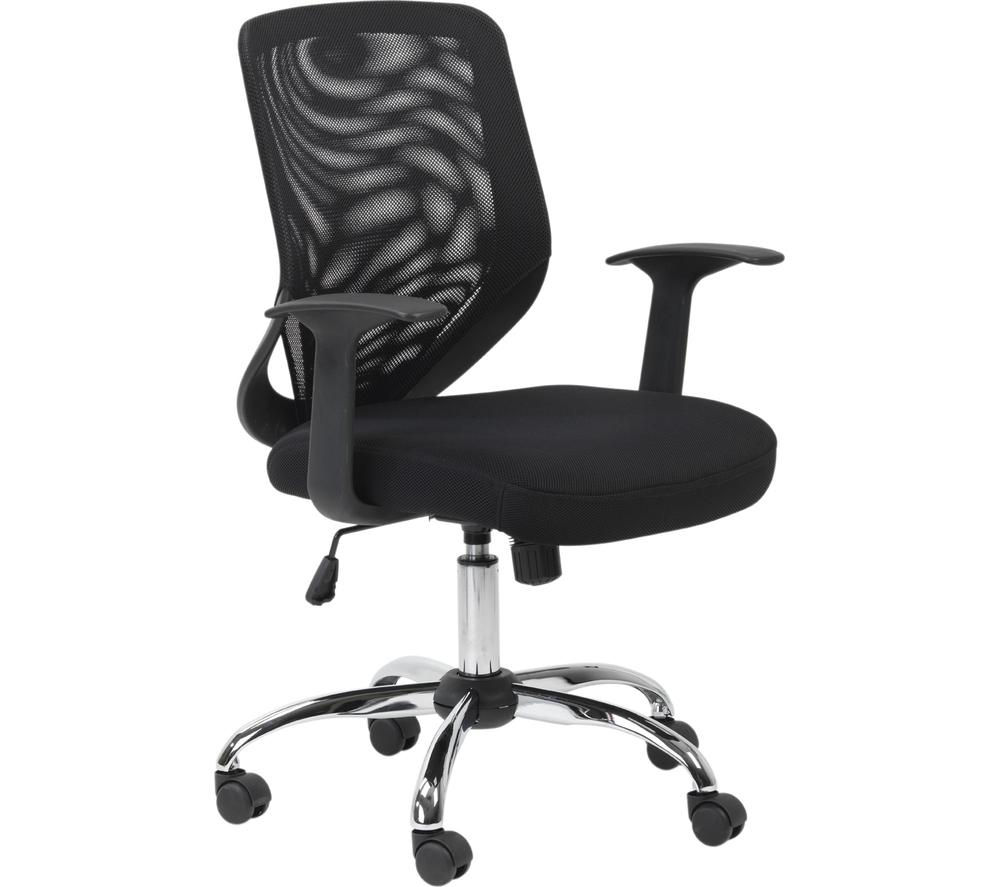 ALPHASON Atlanta Mesh Operator Chair, Black