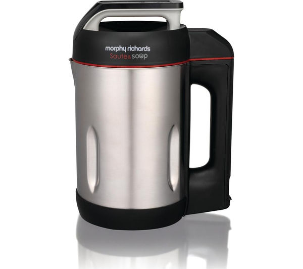 Image of MORPHY RICHARDS 501014 Sauté and Soup Maker - Stainless Steel
