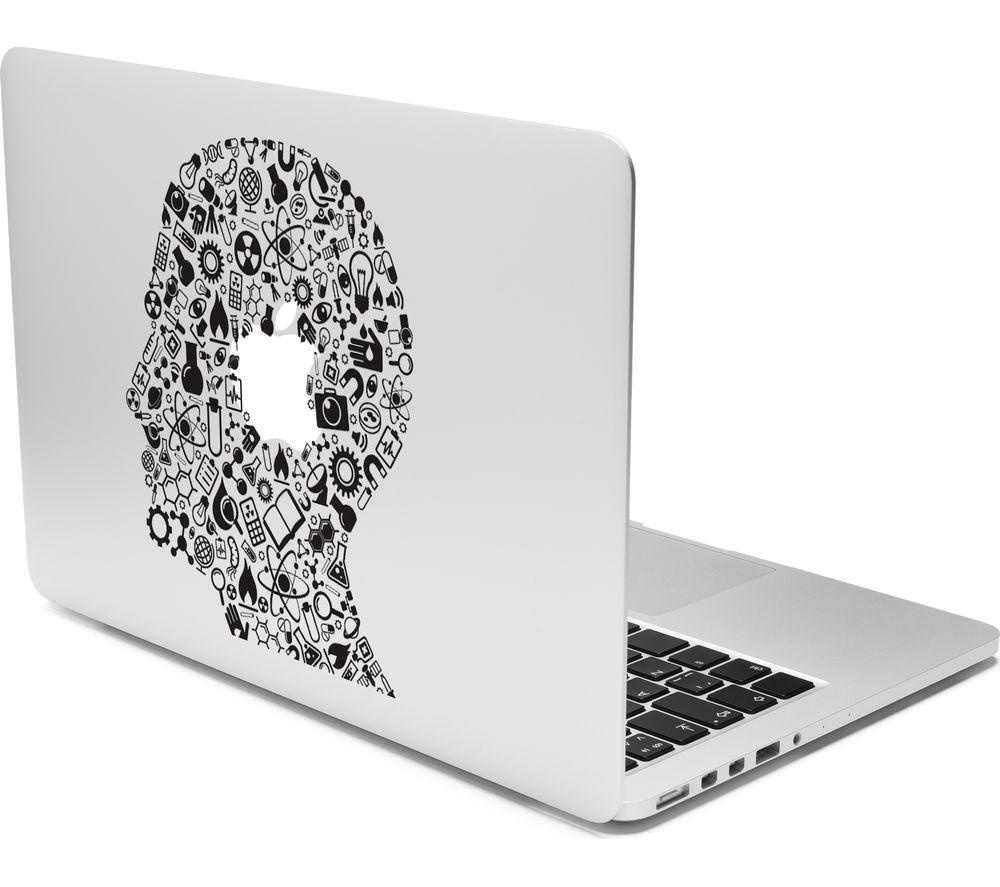 "CASEIT 13"" MacBook Head Profile Decal"