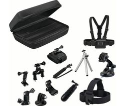 GOJI GAGOPRO15 GoPro Accessory Kit - Black