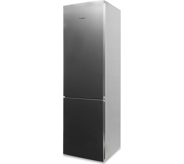 buy bosch serie 4 kgn39vl35g 60 40 fridge freezer silver free delivery currys. Black Bedroom Furniture Sets. Home Design Ideas