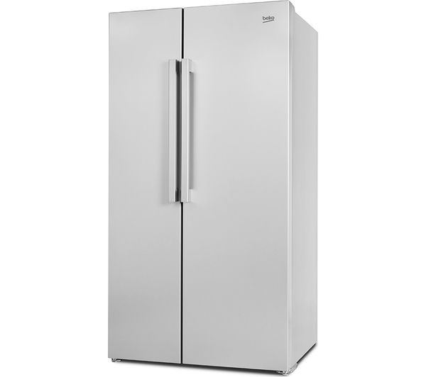 buy beko ras121ls american style fridge freezer silver. Black Bedroom Furniture Sets. Home Design Ideas