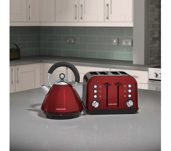 Buy Morphy Richards Accents 242030 4 Slice Toaster Red