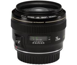 CANON EF 28 mm f/1.8 USM Wide-angle Prime Lens