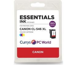 ESSENTIALS CL-546XL Tri-Colour Canon Ink Cartridge