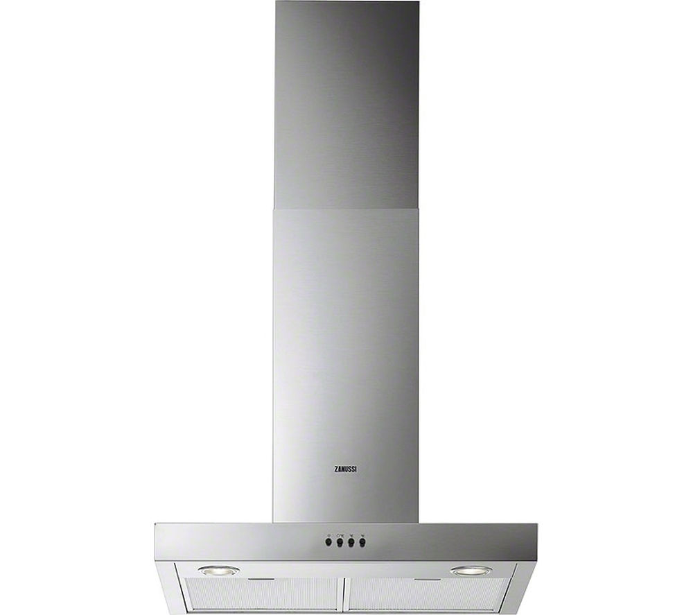 ZANUSSI ZHC62661XA Chimney Cooker Hood - Stainless Steel