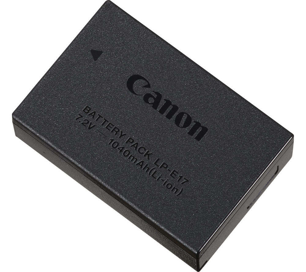 Compare prices for Canon LP-E17 Lithium-ion Rechargeable Camera Battery