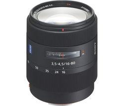 SONY Vario-Sonnar T* DT 16-80 mm f/3.5-4.5 ZA Standard Zoom Lens