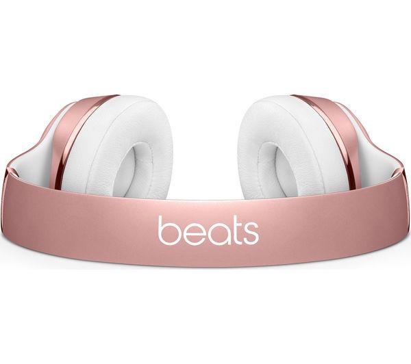 Buy BEATS Solo 3 Wireless Bluetooth Headphones - Rose Gold  f41bb80fc