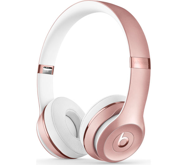 cf75f4f5ee8 BEATS Solo 3 Wireless Bluetooth Headphones - Rose Gold Fast Delivery ...