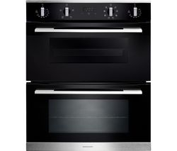 RMB7248BL/SS Electric Built-under Double Oven - Black