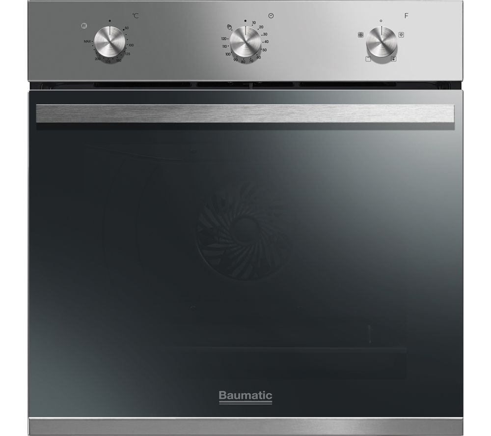 BAUMATIC BOFM604X Electric Oven - Stainless Steel, Stainless Steel Review thumbnail