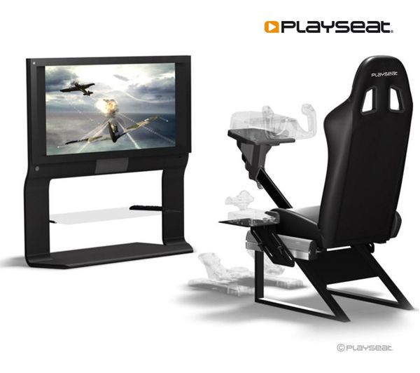 PLAYSEAT Air Force Gaming Chair   Black