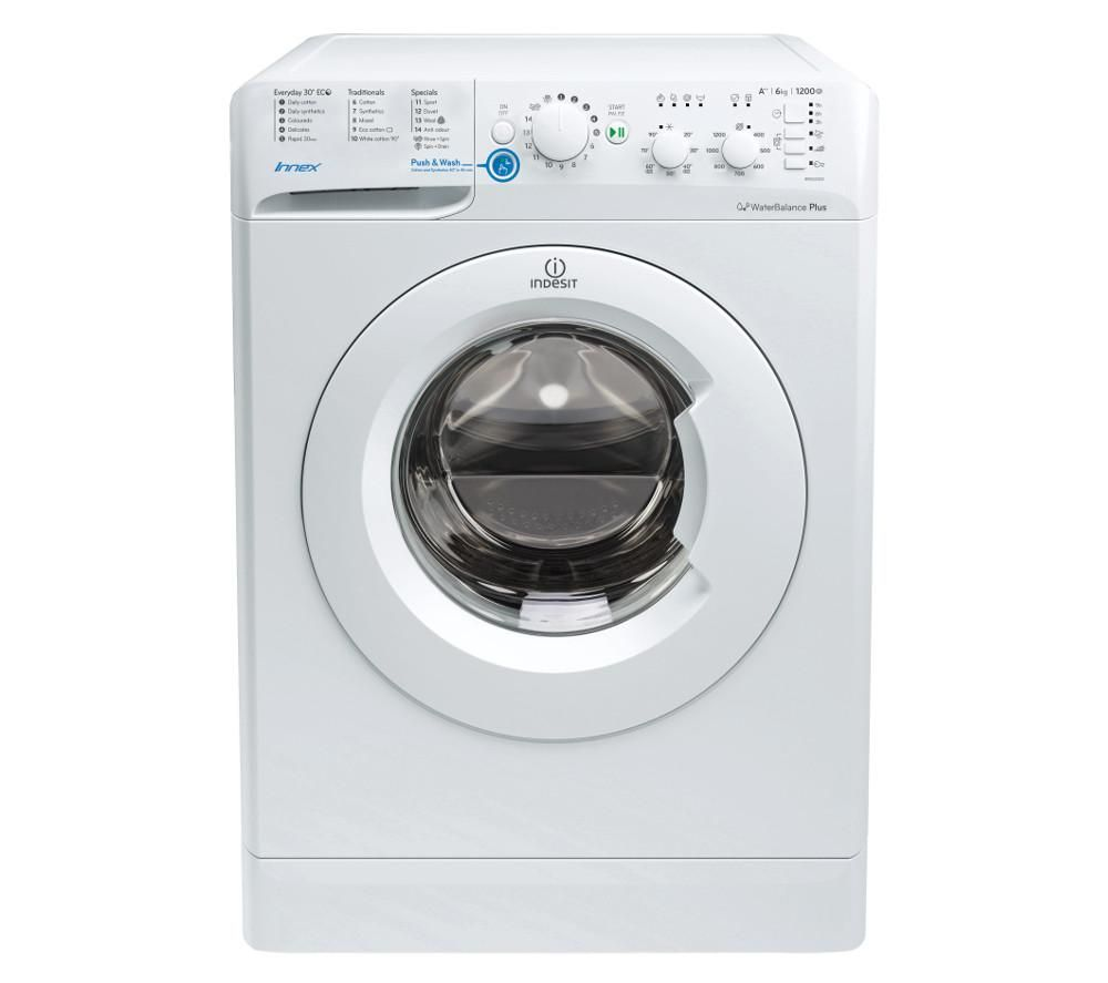 INDESIT Innex BWSC 61252 W Washing Machine - White