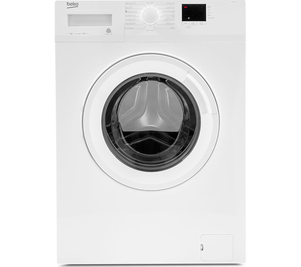 Image of BEKO WTB720E1W 7 kg 1200 Spin Washing Machine - White, White