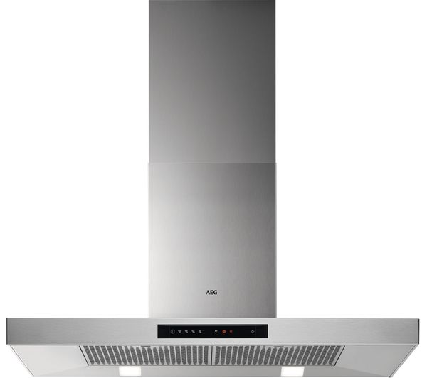 Image of AEG DBB5960HM Chimney Cooker Hood - Stainless Steel