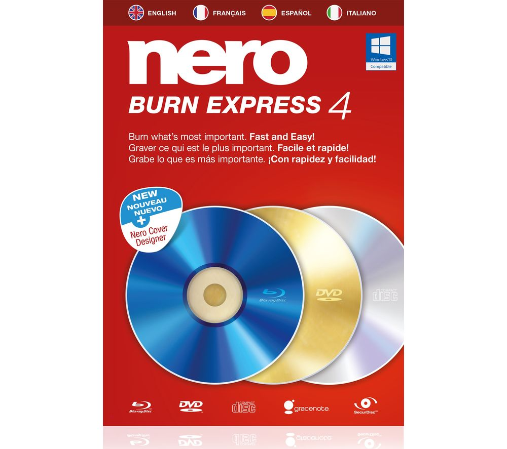 Compare retail prices of Nero Burn Express 4 to get the best deal online