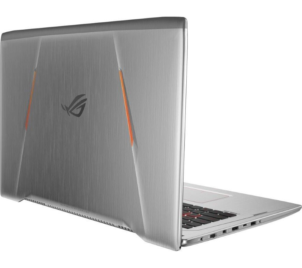"Image of ASUS Republic of Gamers Strix GL702 17.3"" Gaming Laptop - Armour Titanium, Titanium"