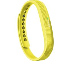 FITBIT Flex 2 Accessory Bands - Yellow, Small & Large