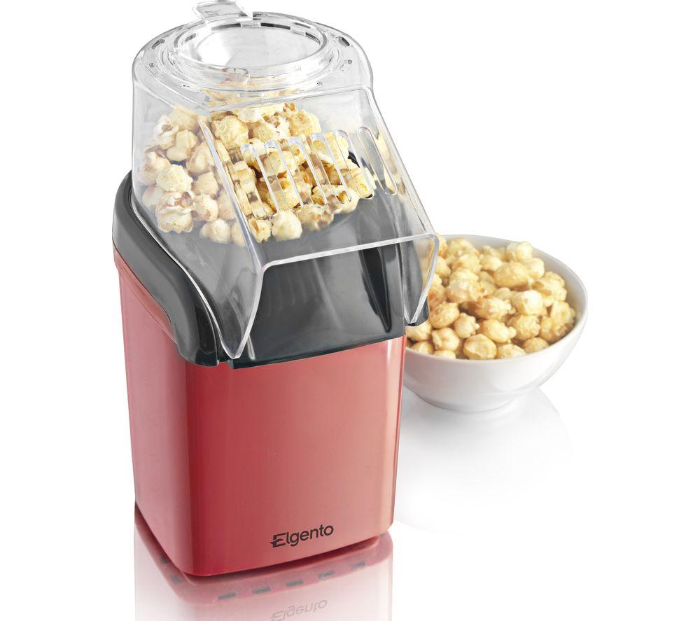 ELGENTO E26006 Popcorn Maker - Red