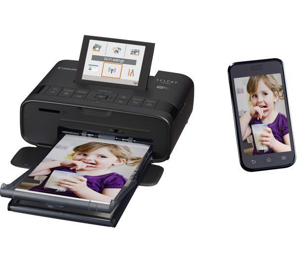 Buy Canon Selphy Cp1300 Wireless Photo Printer Black