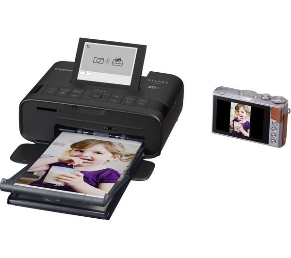 CANON SELPHY CP1300 Wireless Photo Printer - Black Deals ...