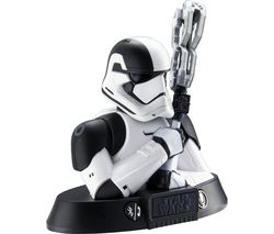 STAR WARS Stormtrooper Portable Bluetooth Wireless Speaker - Black & White