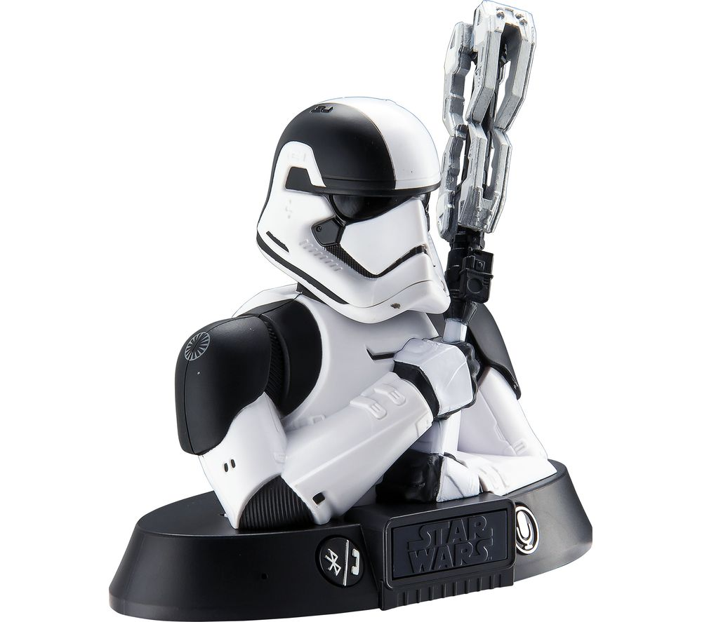 Compare prices for Star Wars Storm Trooper Portable Bluetooth Wireless Speaker - Black