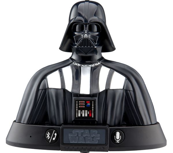 Image of STAR WARS Darth Vader Portable Bluetooth Speaker - Black