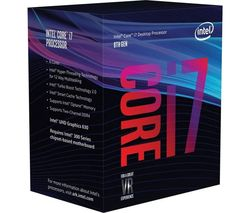 INTEL Core™ i7-8700K Unlocked Processor